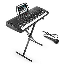 Hamzer 61-Key Digital Music Piano Keyboard – Portable Electronic Musical Instrument – ...
