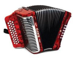 Hohner Accordions RAYO-G 49-Key Accordion