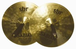 Sabian SBR1422 14-Inch SBR Concert Band Hand Cymbals – Pair