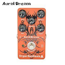 KuWFi Aural Dream Organ Synthesis A Guitar Effects Pedal Rock Bluse Reggae Rockband organ Rotary ...