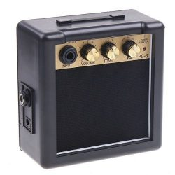Andoer PG-3 3W Electric Guitar Amp Amplifier High-Sensitivity Speaker with Volume Tone Control
