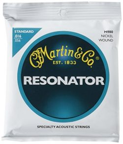 Martin M980 Resonator Nickel Wound Strings