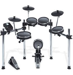 Alesis Surge Mesh Kit | Eight-Piece Electronic Drum Kit with Mesh Heads (10″ Snare, 8̸ ...