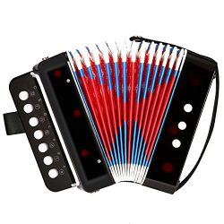 Accordion NASUM Kid's Accordion ,Toy Accordion,Solo and Ensemble Instrument,Musical instru ...