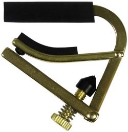 Shubb C5B Original Banjo Capo, Brass