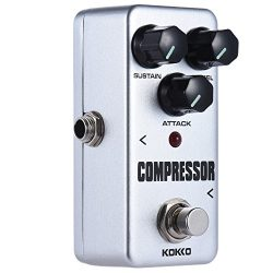 ammoon KOKKO FCP2 Mini Compressor Pedal Portable Guitar Effect Pedal