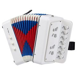 Accordion for Children – 7 Keys Kids Piano Accordion, Musical Instruments for Kids, Suitab ...