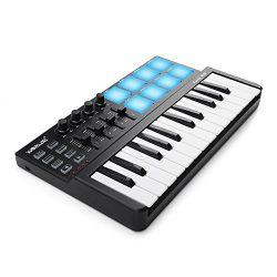 Worlde Panda MINI Portable 25 Keys USB Keyboard MIDI Controller with Drum Pad