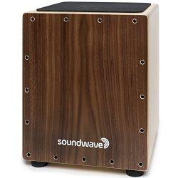 Premium Cajon Box Drum | The Original Acoustic Percussion Instrument You Sit On | High Quality W ...