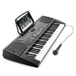 Hamzer 61-Key Digital Music Piano Keyboard – Portable Electronic Musical Instrument &#8211 ...