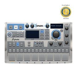 Arturia SparkLE 420101 Compact Hardware Software Drum Machine with a 64-step Sequencer, 8 Pads,  ...