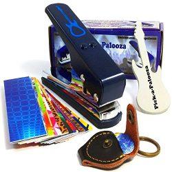 Pick-a-Palooza DIY Guitar Pick Punch Mega Gift Pack – the Premium Pick Maker – Leath ...
