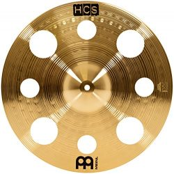 Meinl Cymbals HCS16TRC 16″ HCS Brass Trash Crash Cymbal for Drum Set (VIDEO)