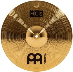 Meinl Cymbals HCS14C 14″ HCS Brass Crash Cymbal for Drum Set (VIDEO)