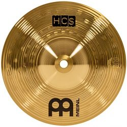 Meinl Cymbals HCS8S 8″ HCS Traditional Drum Set Brass Splash Cymbal (VIDEO)