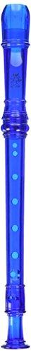 Grover TD180BL Tudor Candyapple 2 Piece Recorder, Blue
