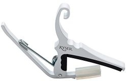 Kyser Quick-Change Capo for 6-string acoustic guitars – Pure White