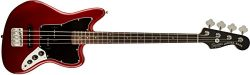 Squier by Fender Vintage Modified Jaguar Beginner Short Scale Electric Bass Guitar – Candy ...