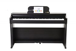 The ONE Smart Piano, Weighted 88-Key Digital Piano, Grand Graded Hammer-Action Keys Upright Pian ...