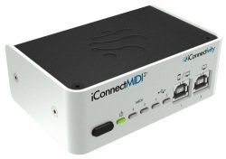 iConnectMIDI2+ Lightning Version, 2-in 2-out Hyper Connective USB MIDI Interface for Mac, PC and ...