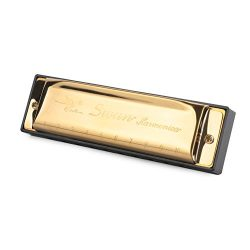ELENKER Harmonica 10 Holes Key of G Blues Rock Jazz Harmonica with Case
