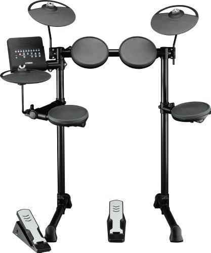 Yamaha DTX400K Compact Electronic Drum Set with Free Apps