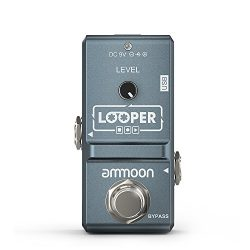 ammoon AP-09 Nano Loop Electric Guitar Effect Pedal Looper True Bypass Unlimited Overdubs 10 Min ...