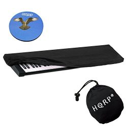 HQRP Elastic Keyboard Dust Cover for Roland JUNO-60 JUNO-D JUNO-Di JUNO-G JUNO-Gi JUNO-STAGE Dig ...