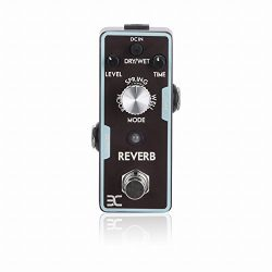 EX Digital Reverb Spring Space Reverb Micro Guitar Effects Pedal
