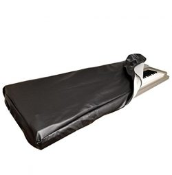 DCFY Music Keyboard Dust Covers for Casio Music Arrangers MZ-X500 | Prem. Synth. Leather – ...