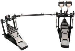 GP Percussion DP778TN Pro Quality Double Drum Pedal