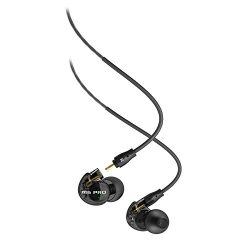MEE audio M6 PRO Universal-Fit Noise-Isolating Musician's In-Ear Monitors with Detachable  ...