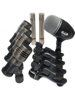 CAD Audio TOURING7 Premium 7-piece Drum Microphone Pack