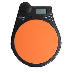 Blueseason Digital Multifunction Electronic Drum Pad Metronome Counter for Training Practice,Bla ...