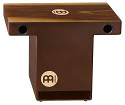 Meinl Percussion TOPCAJ2WN Turbo Walnut Slap-Top Cajon with Internal Snares and Forward Projecti ...