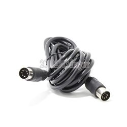 7 Pin Din Midi Cable Male to Male 9ft 3m Controller Interface Audio Cable for Bang & Olufsen ...