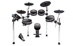 Alesis DM10 MKII Studio Kit | Nine-Piece Electronic Drum Kit with Mesh Heads