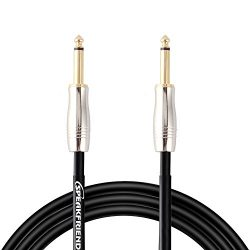 10ft Guitar Instrument Cable, Cable Patch Cords, Straight-To-Straight Guitar Accessories Cables, ...