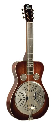 Recording King Squareneck Resonator Guitar, Mahogany, Vintage Sunburst