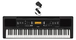 Yamaha PSREW300AD 76-Key Portable Keyboard & Power Supply