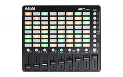 Akai Professional APC Mini | Compact Ableton Live controller with Ableton Live Lite Download (8& ...