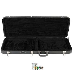 ChromaCast CC-EHC-KIT-3 Electric Guitar Hard Case with Pick Sampler