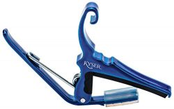 Kyser Quick-Change Capo for 6-string acoustic guitars – Blue