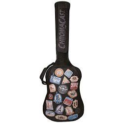 ChromaCast CC-BPB-BAG-WT World Tour Graphic Two Pocket Bass Guitar Gig Bag