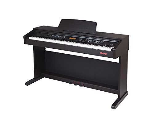 Flychord DP330 Console Home Digital Pianos Featured with Fully Weighted 88 Hammer Action Keys an ...