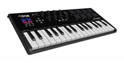 M-Audio Axiom AIR Mini 32 | Premium 32-Key USB MIDI Keyboard & Drum Pad Controller (8 Pads / ...
