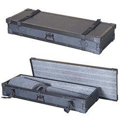 Keyboard 1/4 Ply Economy Tuffbox Light Duty Road Case Fits Roland Bk-5 61-key Arranger Workstation
