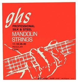 GHS LS250 Mandolin Silk & Steel Regular Strings