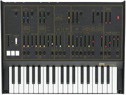 Korg ARP Odyssey Rev 2 Ltd. Ed. Black/Gold (Certified Refurbished)