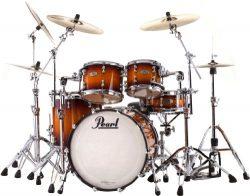 Pearl RFP924XSP/C Reference Pure 4-Piece Drum Set – Vintage Tobacco Burst